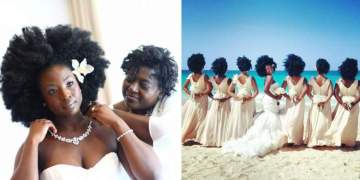 penteado para noivas com cabelos cacheados