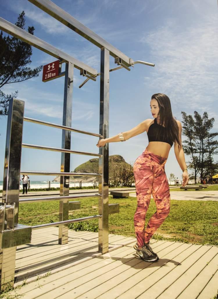 Ana Paula Gov é torcedora e musa do Flamengo