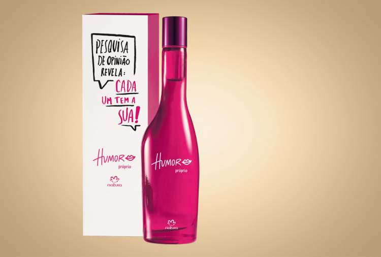 Humor Próprio da Natura (Antigo Humor n°5) é um dos melhores perfumes para mulheres românticas