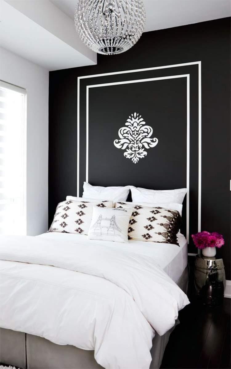 Pinte uma cabeceira para a sua cama