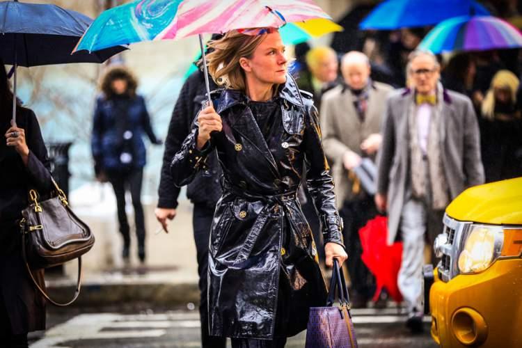 capa de chuva fashion