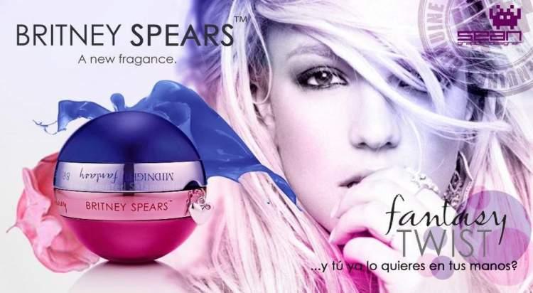 Twist Fantasy Britney Spears é uma das fragrâncias mais vendidas do mundo
