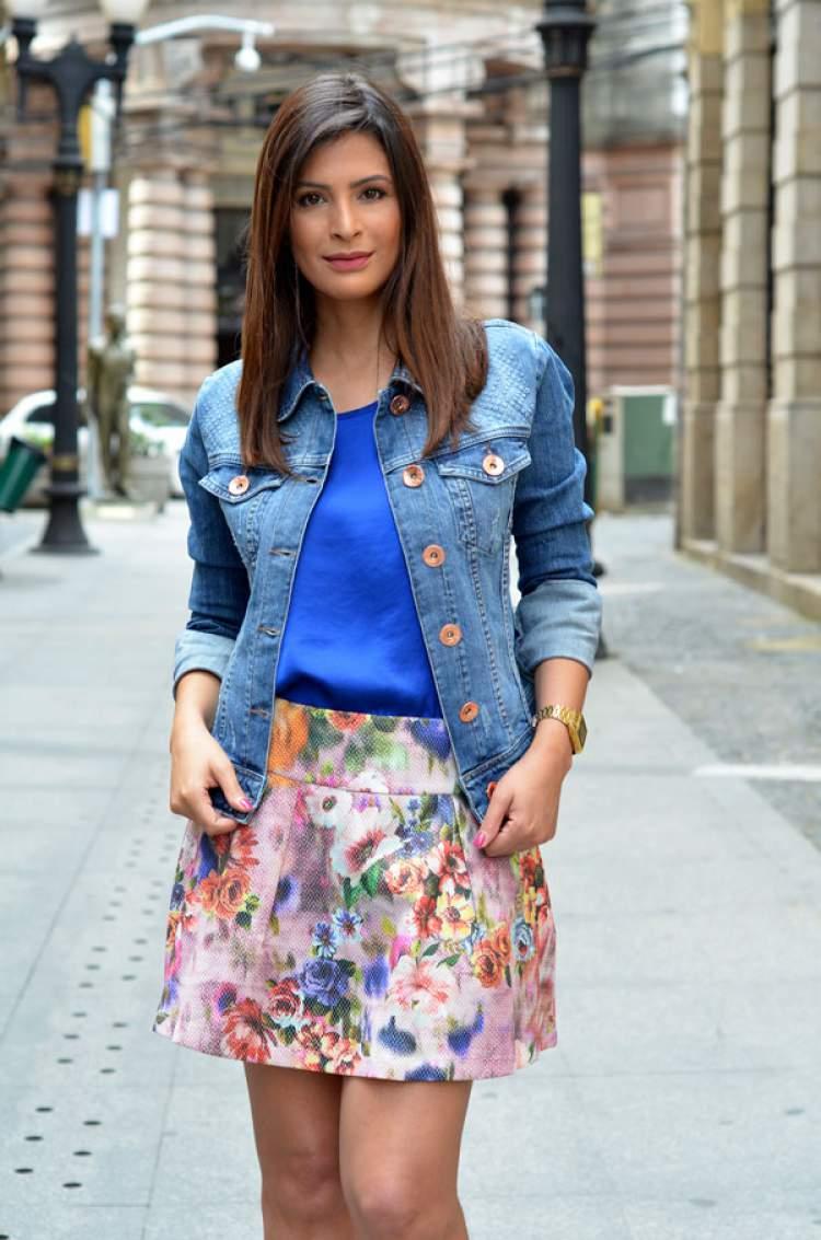 Jaqueta jeans como terceira peça