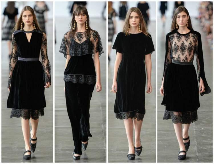 Veludo será destaque da moda inverno 2017