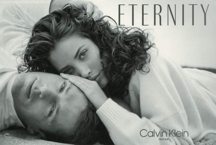 Eternity de Calvin Klein é um dos perfumes mais vendidos no mundo