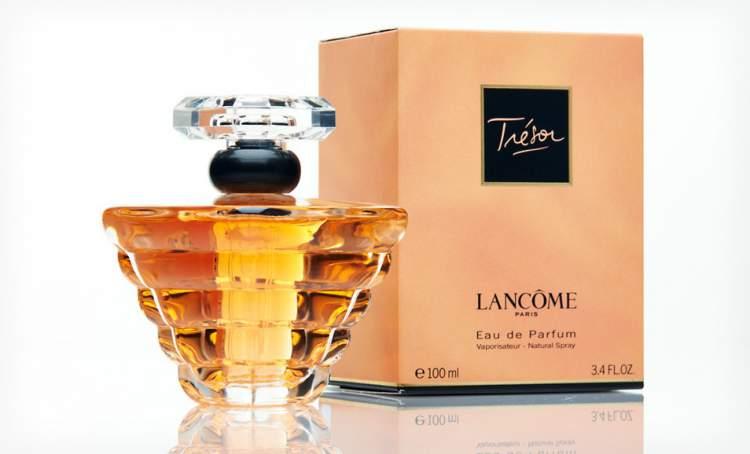 Trésor de Lancôme é um dos perfumes mais vendidos no mundo