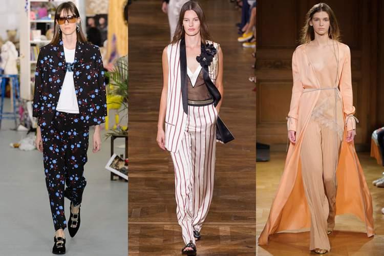 Roupas no Estilo Pijama são tendências da moda primavera verão 2017-2018