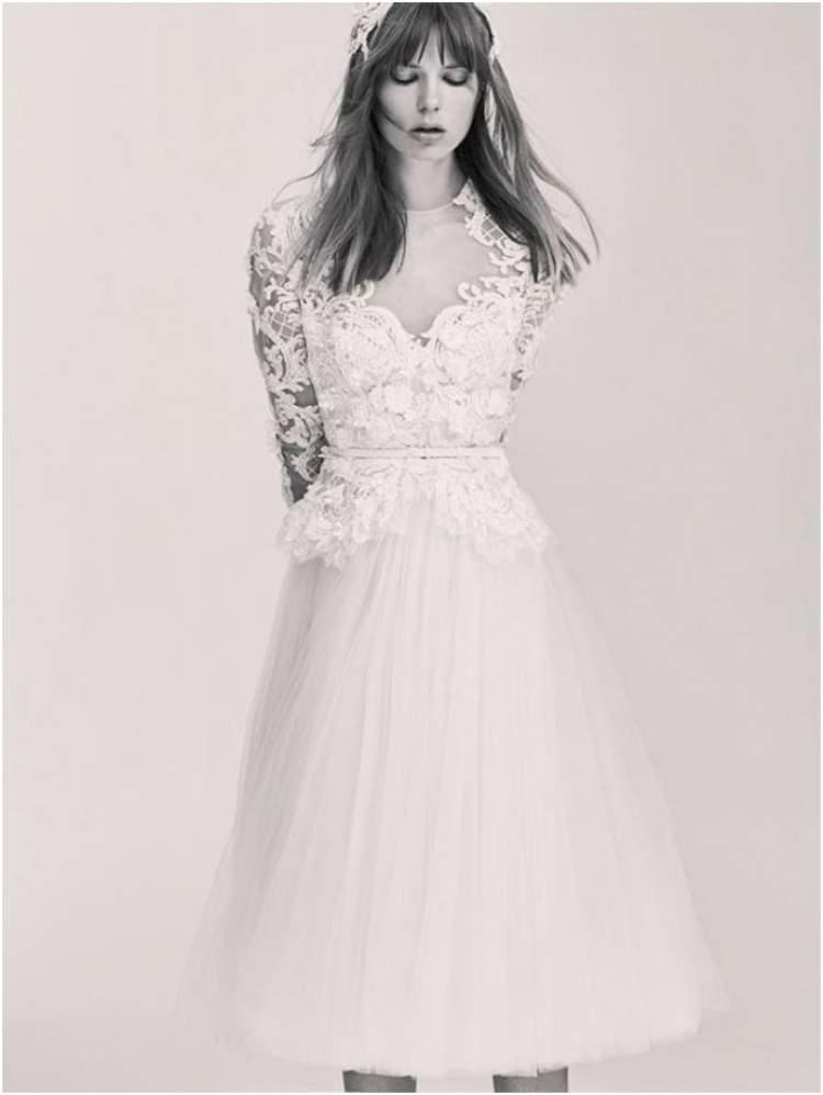 Tendência em Vestido de Noiva para Casamento no Civil 2017