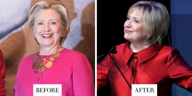 Corte de Cabelo da Hillary Clinton