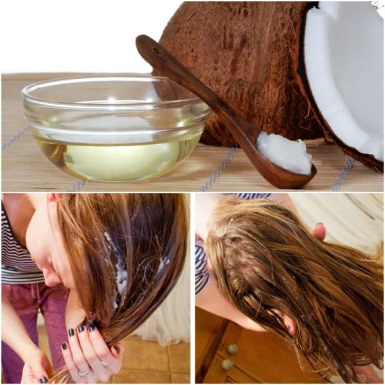 Como aplicar o óleo de coco no cabelo