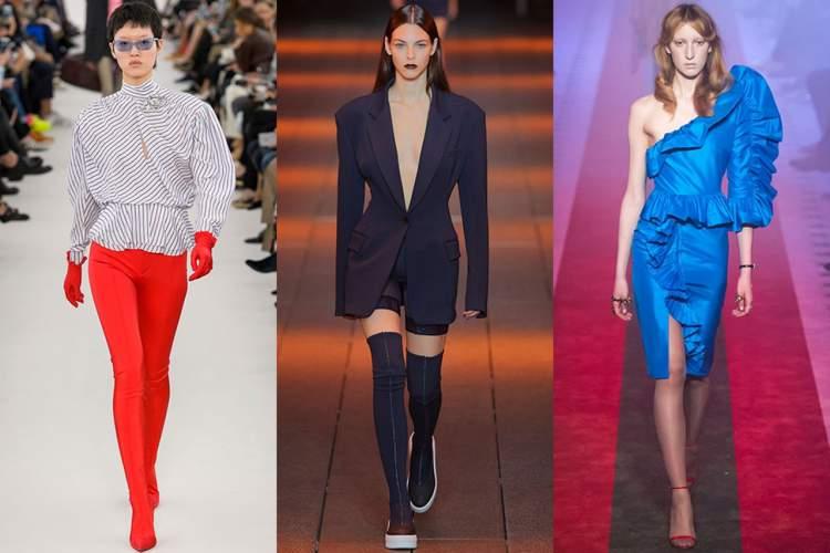 Blusa oversized com ombreiras é uma tendência do verão 2018