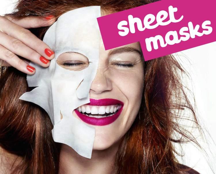 Tendência: Sheet masks (máscaras de papel)