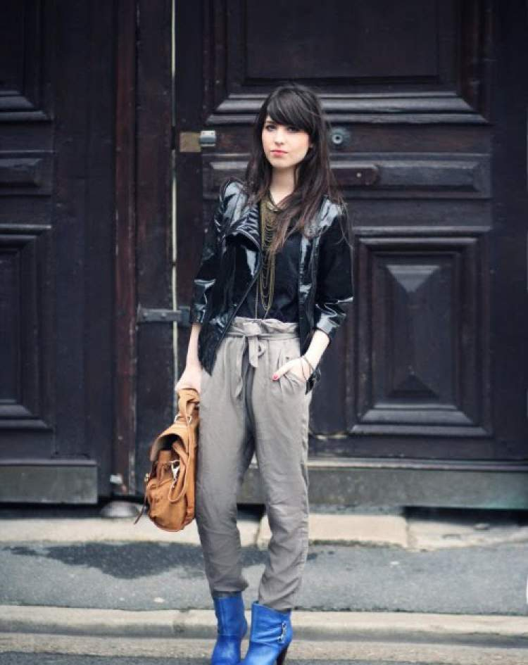 Dicas de moda com look de vinil