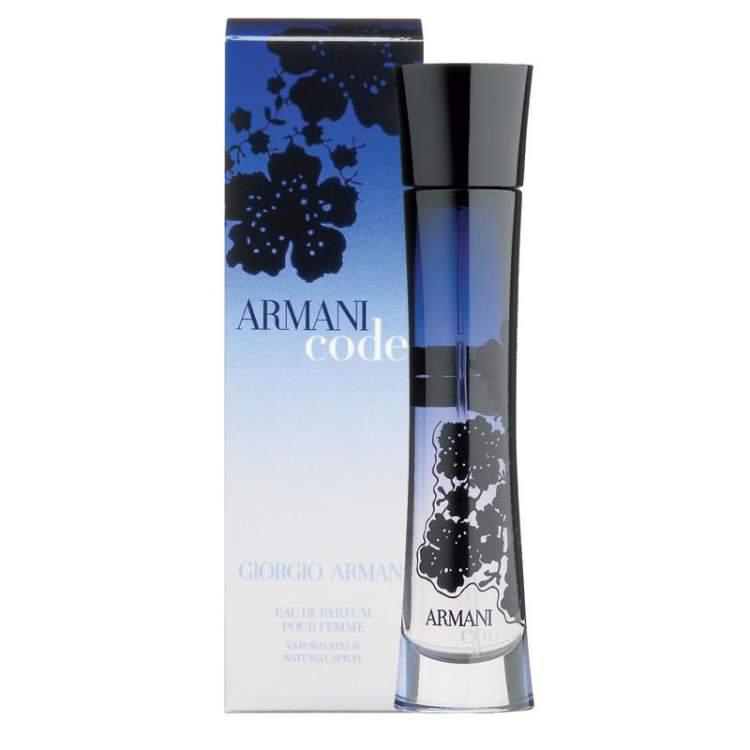 Armani Code (for women) de Giorgio Armani é um dos Perfumes que enlouquecem os homens