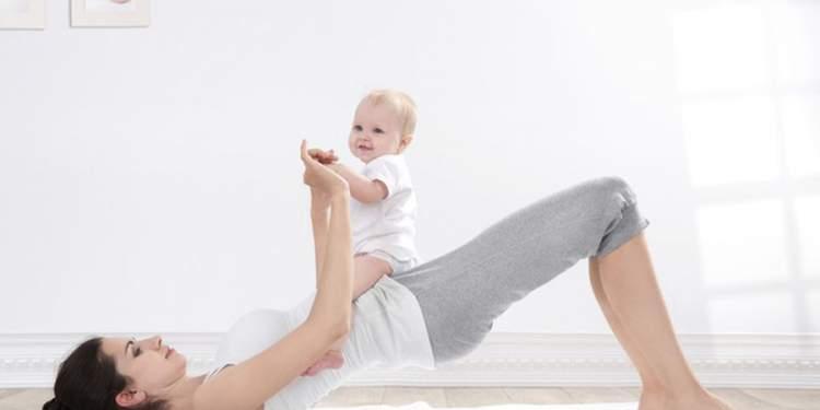 Exercícios para perder barriga depois do parto