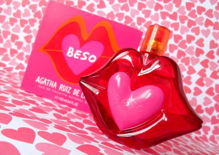 Beso de Agatha é um dos perfumes com frascos mais bonitos