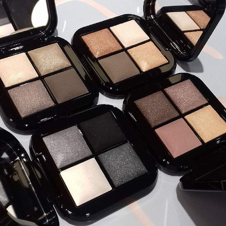 Bright Quartet Baked Eyeshadow Palette da Kiko Milano