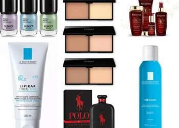 Lançamentos de produtos de beleza em agosto