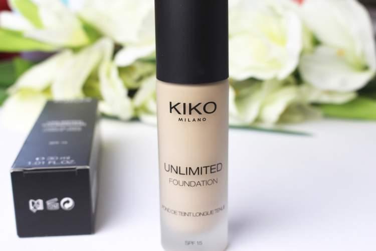 Unlimited Foundation SPF da Kiko Milano