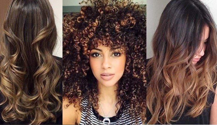 O castanho iluminado é uma das tendências em cores para cabelo 2018