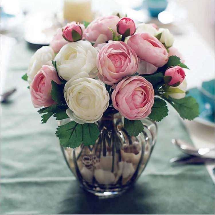 Camélia é uma das flores para buquês e arranjos