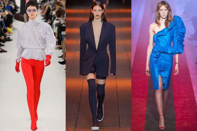 Minimalismo em tecido plano está entre as tendências da moda outono inverno 2018