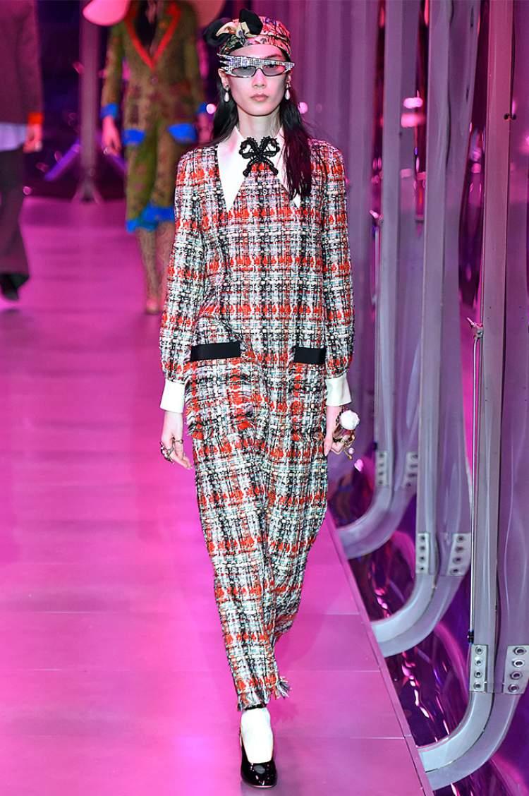 O novo Tweed é sensação da modo outono inverno 2018