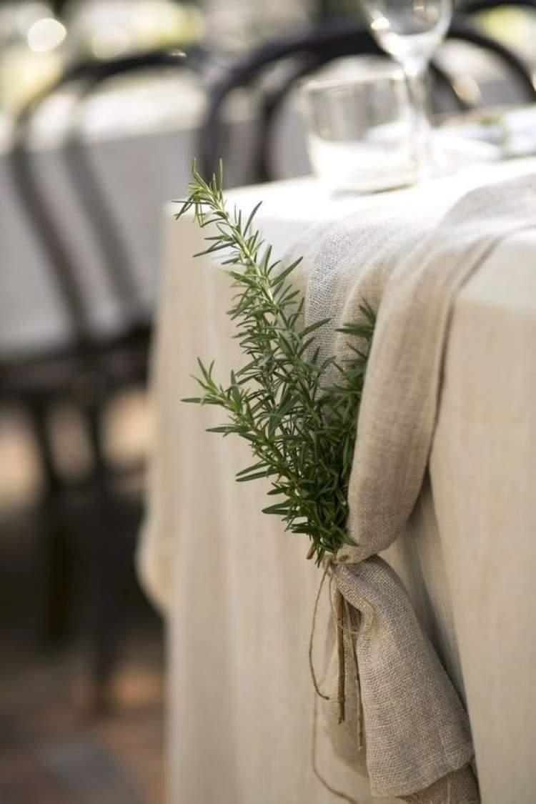 Como substituir as flores na decoração de casamento
