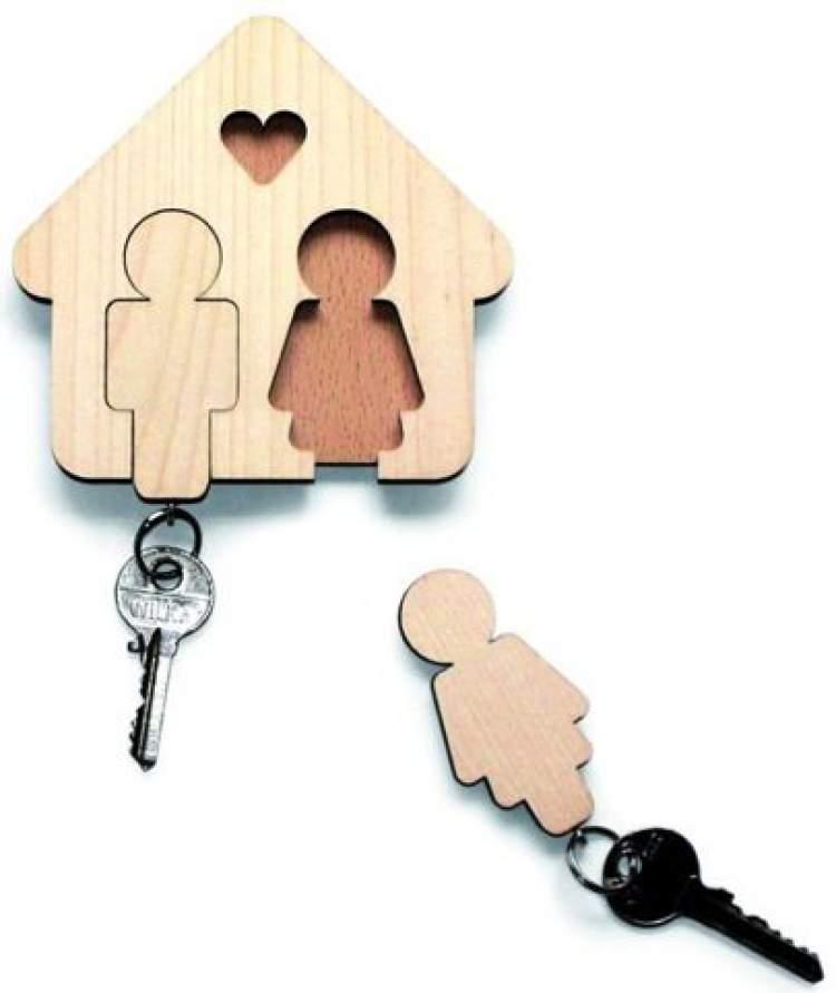 Porta-chaves para lembrancinha de casamento