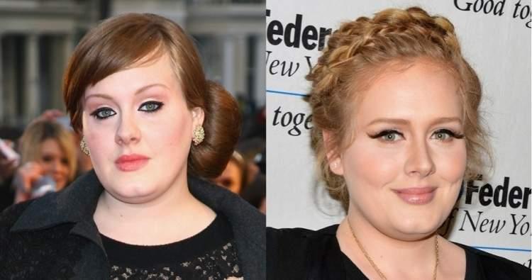 Sobrancelhas da Adele - Antes e Depois
