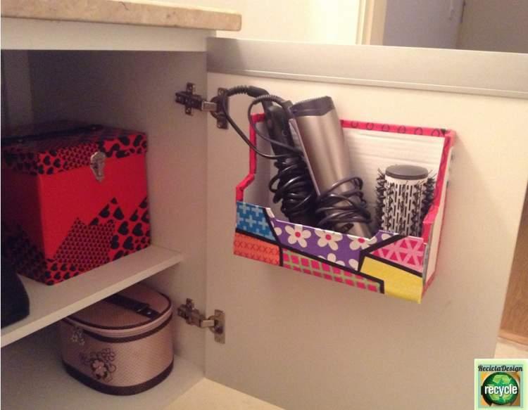 Ideia para deixar um banheiro pequeno mais espaçoso