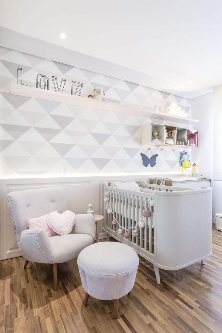 Dica de decoração do quarto do bebê: 28 ideias lindas para você se inspirar