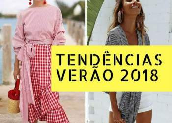 As 20 maiores tendências do verão 2018