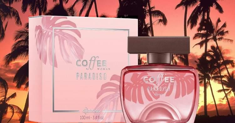 Coffee Woman Paradiso é um dos melhores perfumes para dar de presente no Natal