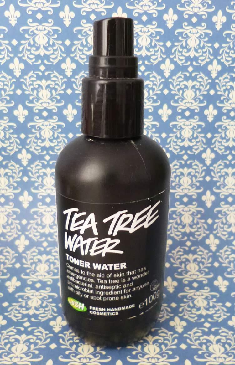 Tônico Tea Tree Water, Lush para salvar a pele oleosa no verão