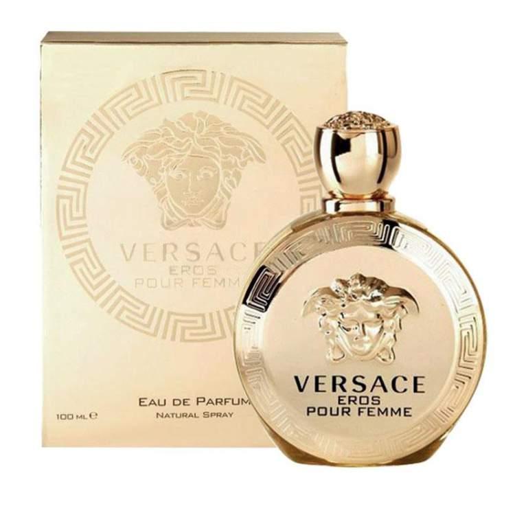 Eros Pour Femme de Versace é um dos melhores perfumes gringos