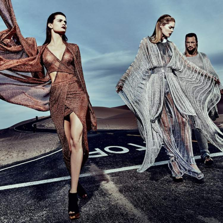 Vestido de lurex é uma tendência para o inverno 2018