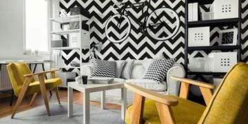 Papel de parede para melhorar a casa