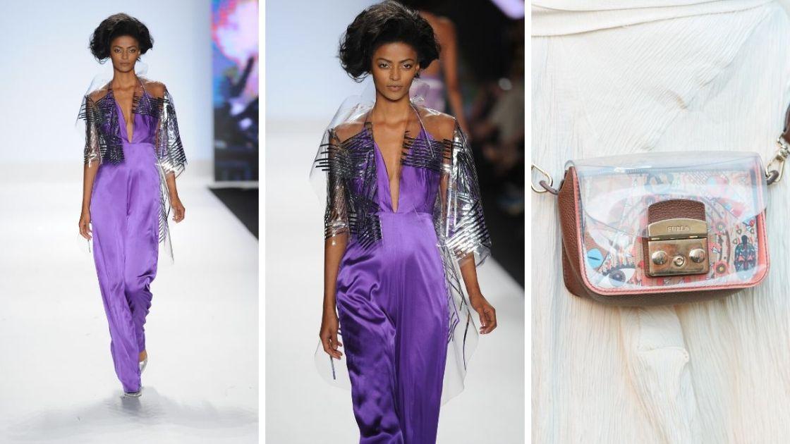 O plástico será uma das tendências da moda primavera verão 2019
