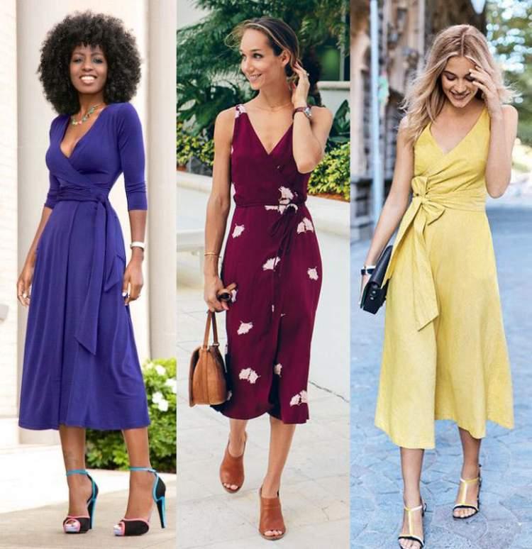 Saiba como escolher o vestido ideal para o corpo retangular