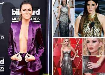 Erros e acertos das famosas ao apostarem na tendência dos brilhos e metalizados em 2018