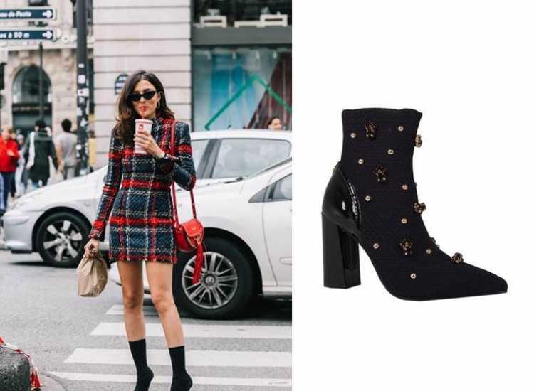 A sock boot é uma das botas que transformam o look