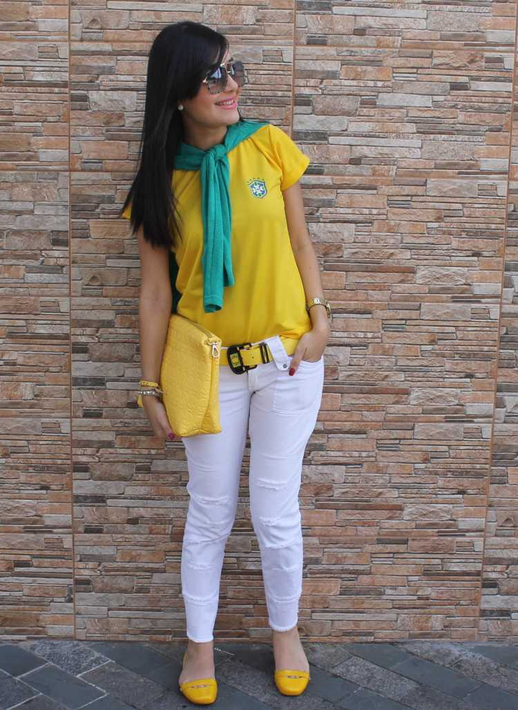 Look jeans e T-Shirt