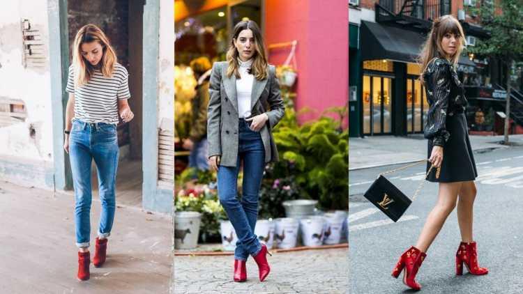 O charme da bota vermelha