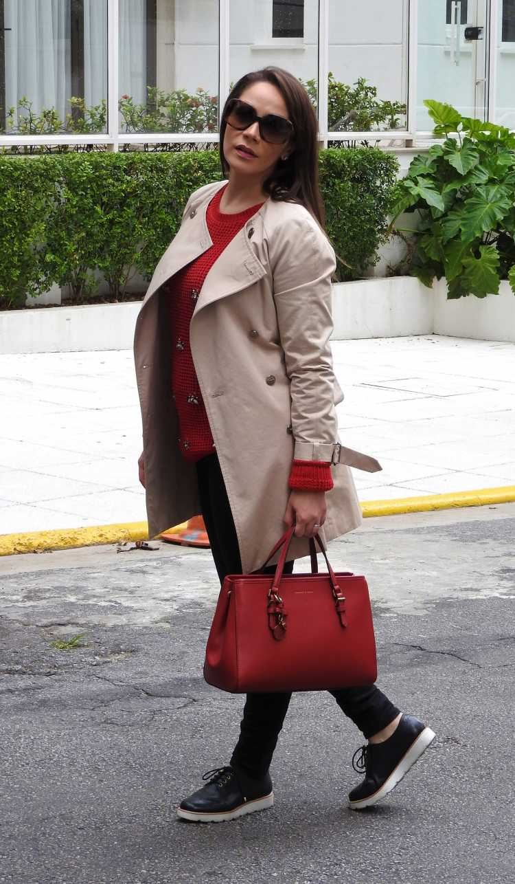 Trench coat está na moda