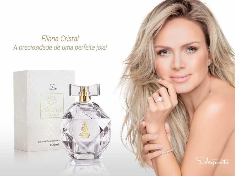 Eliana Cristal, da Jequiti, é um dos melhores perfumes femininos nacionais