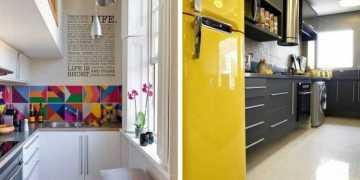 Aprenda decorar uma cozinha pequena
