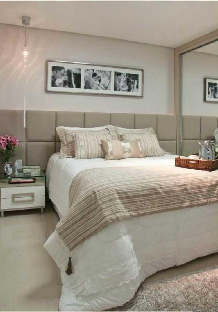 Ideia de decoração do quarto de casal