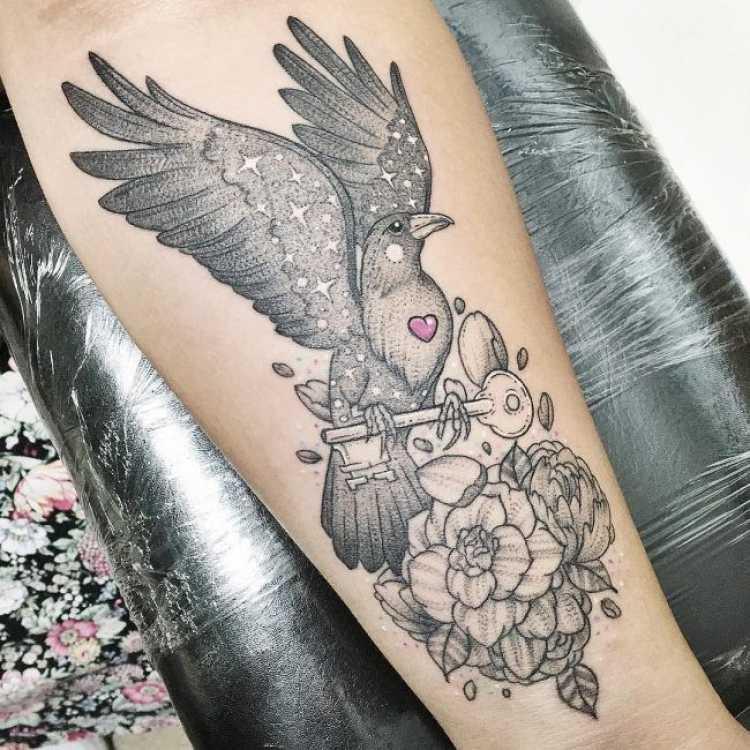Sugestão de tatuagem feminina