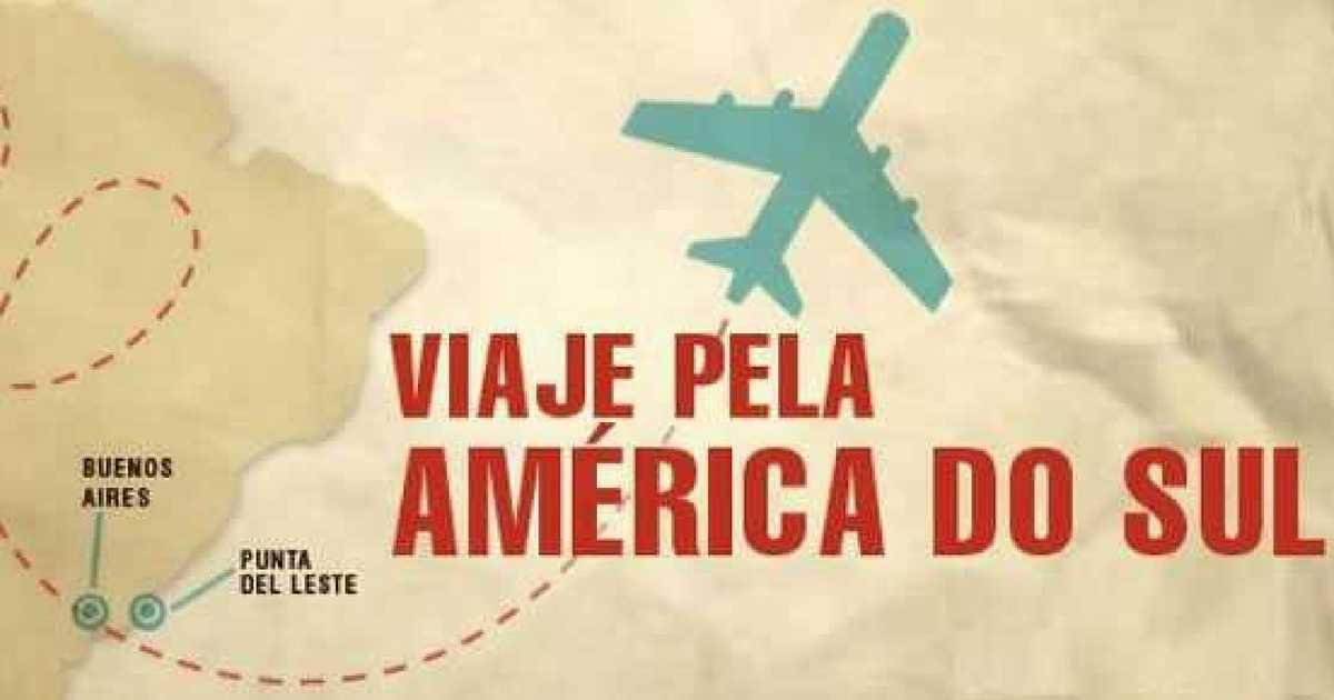 Viajar na América do Sul